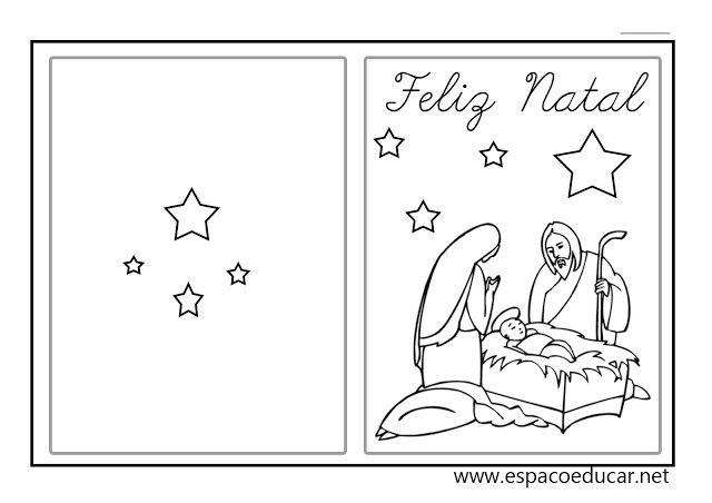 Lindos Cartoes De Natal Prontos Para Imprimir Cartao De Natal