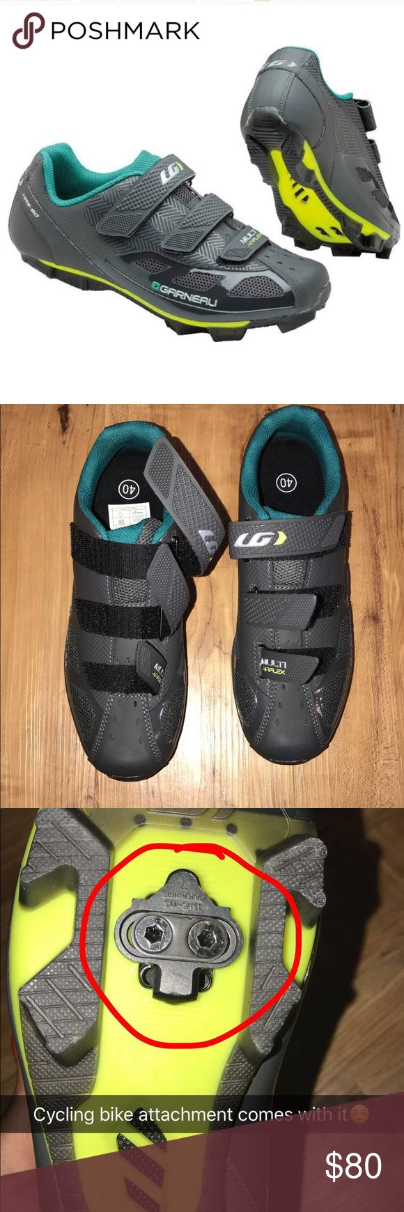 Garneau Women Cycling Shoes Louis Garneau Women's Multi Air Flex Cycling shoes, worn twice but the ball of my foot isn't functional for them. Overall they're great, I've flat feet so it didn't work out :( louis garneau Shoes Athletic Shoes