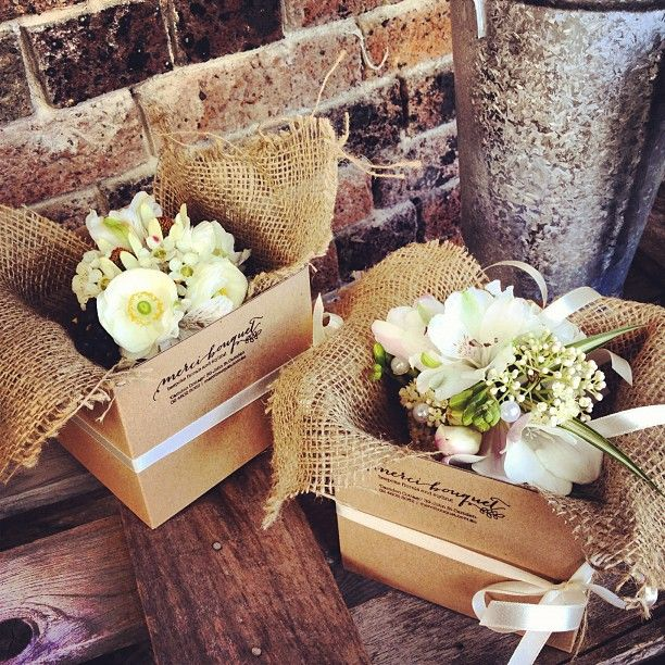 Corsages ready to go by Merci Bouquet in Camden NSW, Australia http://www.mercibouquet.com.au/