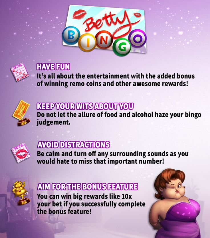 ★ Betty #Bingo #Tips ★ We have a few tips and tricks to help you win at our very own Bingo! Play Now -> https://apps.facebook.com/kashkarnival/