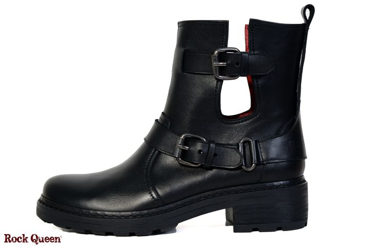 www.rockqueen.shoes https://www.facebook.com/rqshoes #RQ_006  #Rock_Queen #rock #queen #star #shoes #handmade #handcraft #greece #biker #boots #leather #quality #black #cut_out #woman #fashion #collection #casual #stamp_rock_queen #stamp #red_blood_lining #biker_sole #metal