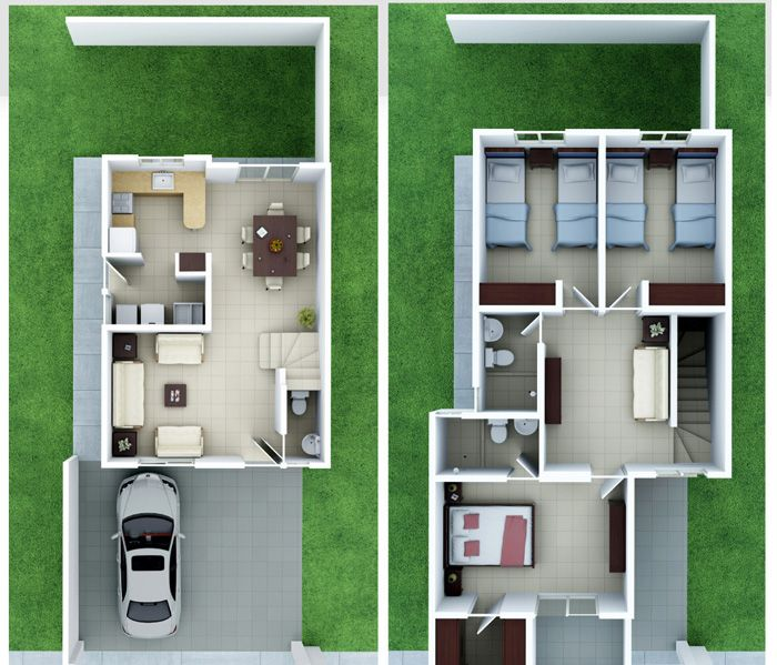 M s de 25 ideas incre bles sobre planos de casas peque as for Planos de construccion de casas pequenas
