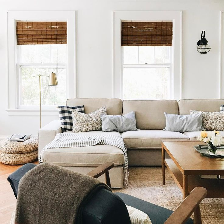 Top 25+ best Ikea sectional ideas on Pinterest Ikea couch, Ikea - white sectional living room