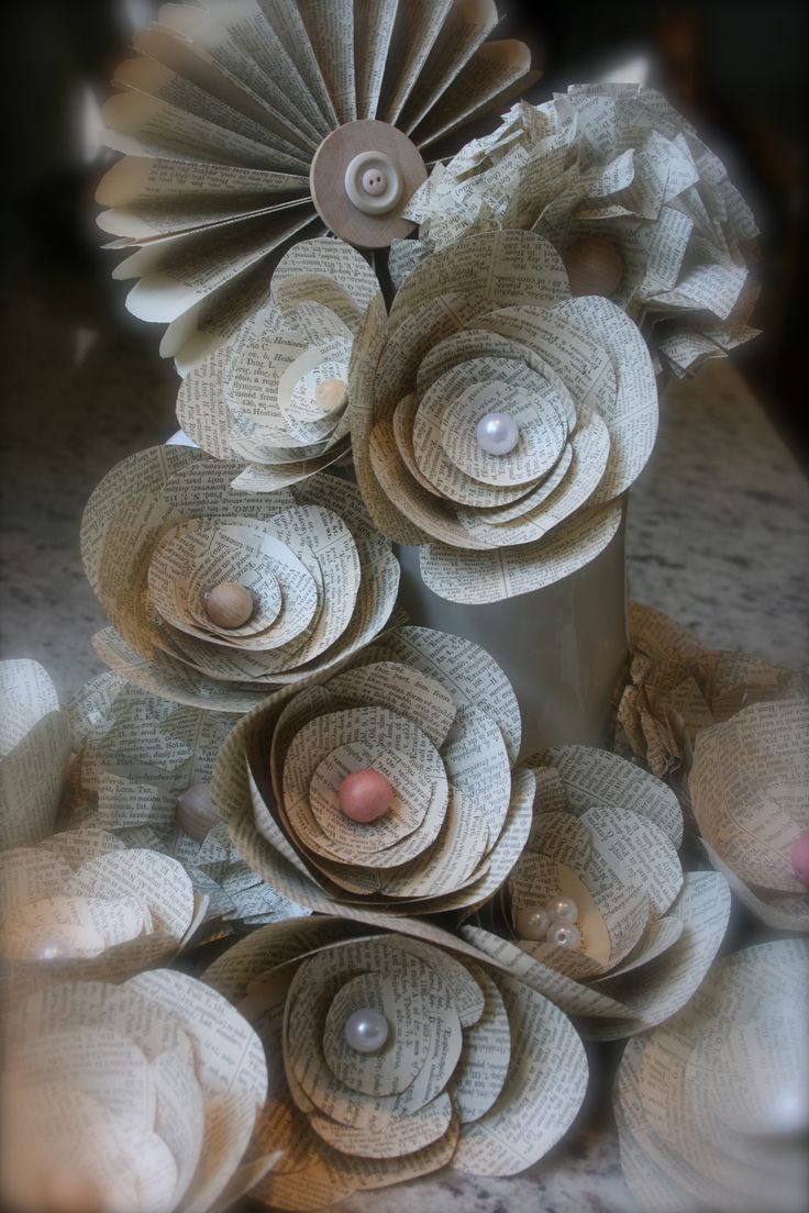 Paper Flowers For Wedding Reception Diy Pinterest