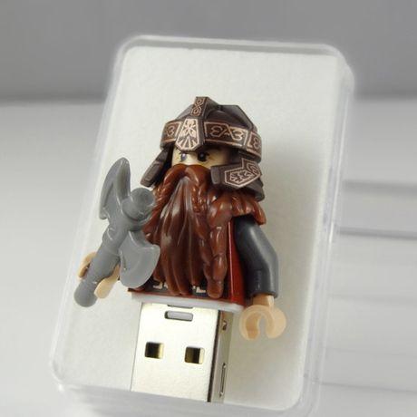 Gimli Pendrive 8GB USB w BRICK CRAFT #lego las  #pendrive #flash #minifigures #gimli #http://pl.dawanda.com/shop/brickcraft
