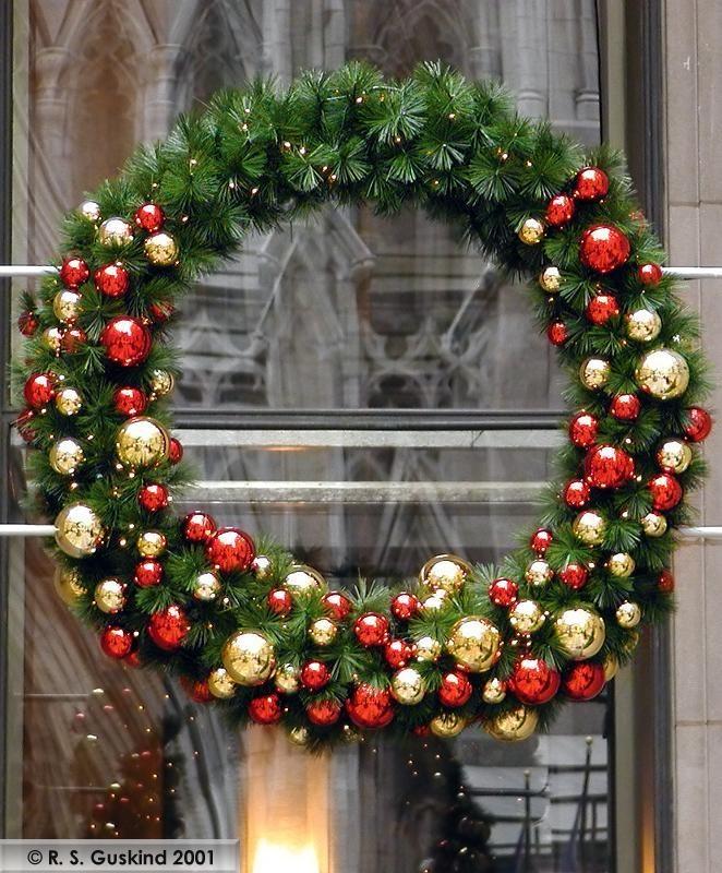 christmas wreath christmas pinterest