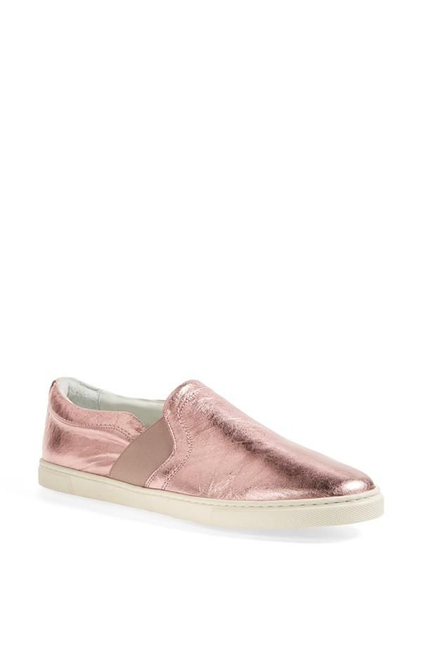 Slip on Sneakers for Women On Sale in Outlet, Pink, Leather, 2017, 2.5 Lanvin