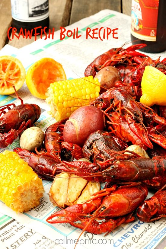 Crawfish Party! Including a Crawfish Boil Recipe, how much you'll need per person, how to store, boil, and serve.