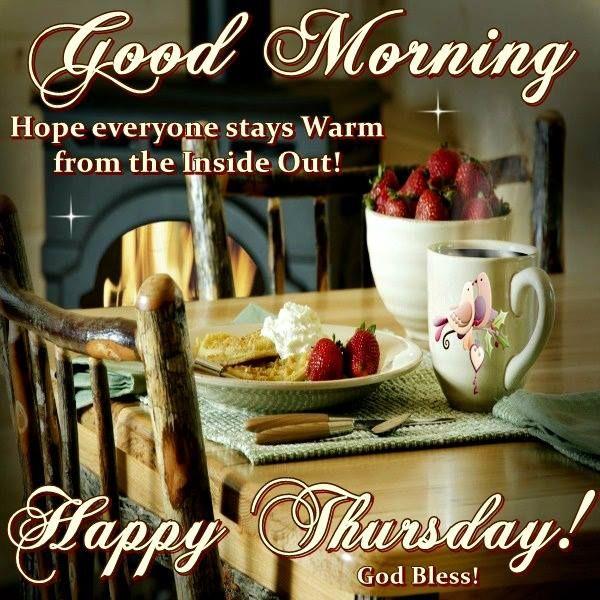 Good Morning, God Bless!