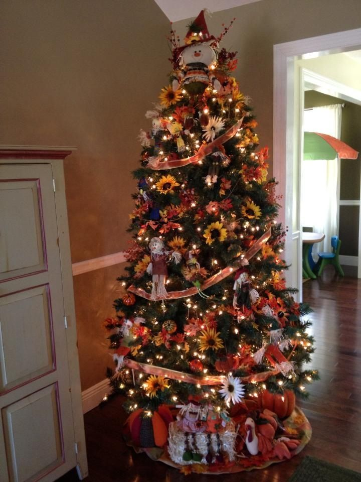 i am leaving it up all year and decorating it - Halloween Christmas Decorations