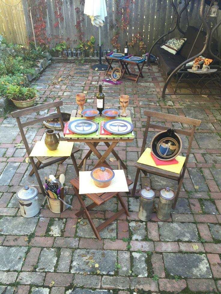 http://richardfisherpottery.com/  Table Settings & more Beyond the Valley Studio Tour Fall 2015