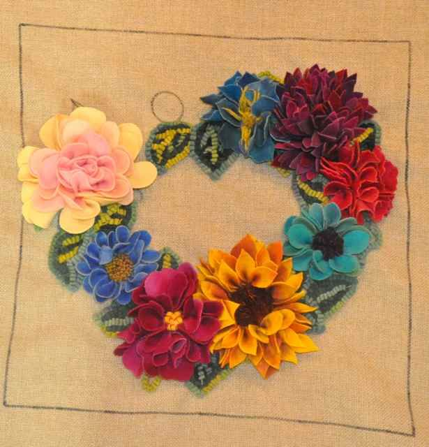 51 Best Punch Needle Embroidery Images On Pinterest