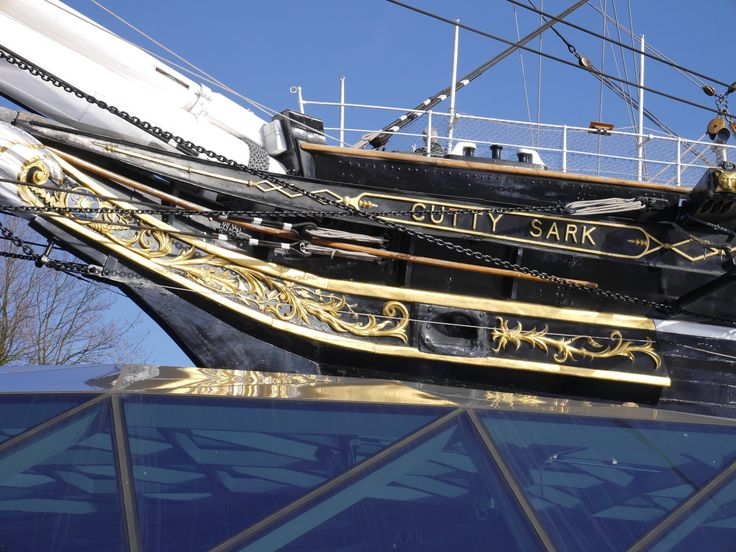 The side view of the cutty sark