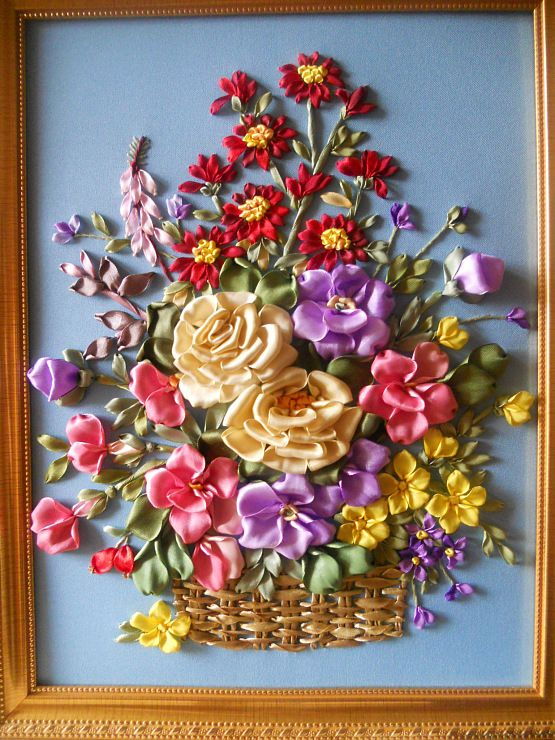 Gallery.ru / Фото #16 - Моя вышивка лентами - valentinaM