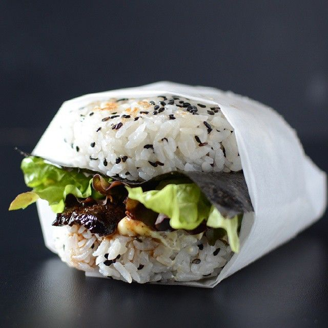 Do you remember these Teriyaki Steak Sushi in Burger Form! Unbelievably delicious tender Steak…