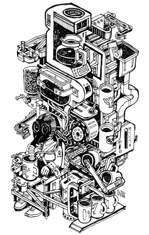 too-much-coffee machine 782