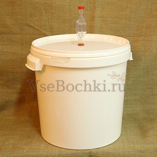 Емкость для брожения 30 литров с гидрозатвором