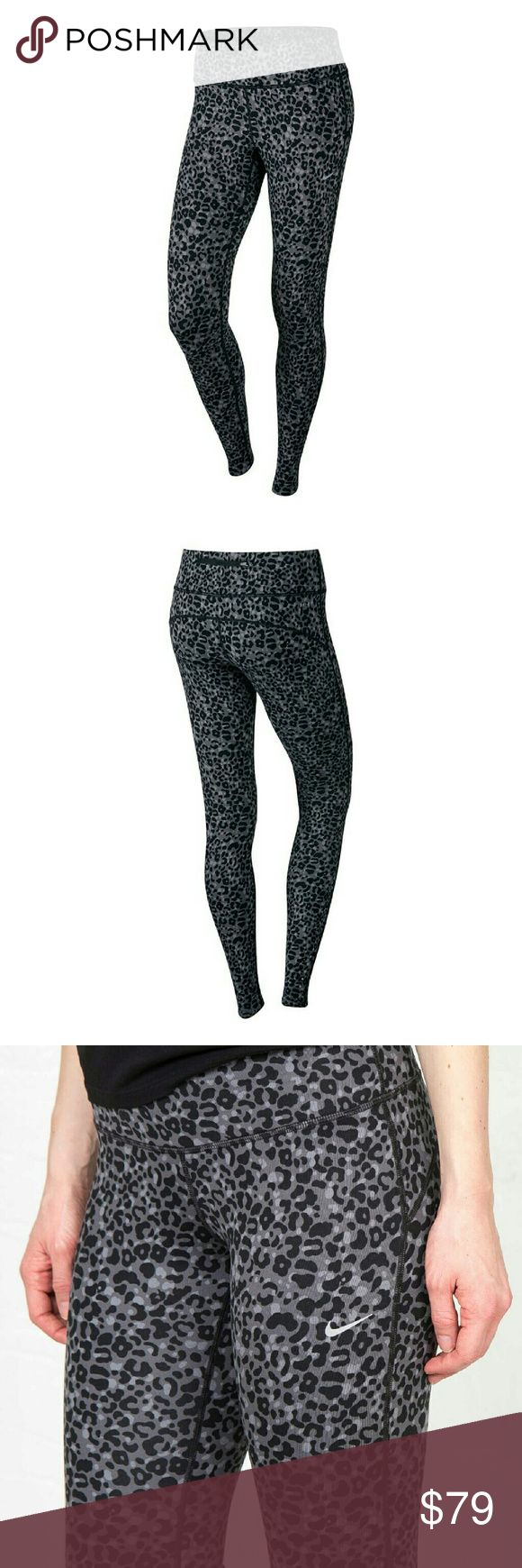 Nike Leopard print leggings NWT.  EH Nike Pants Leggings