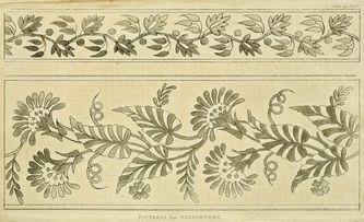 FLOWER: 200 Year Old English Regency Era Patterns-PDF file -  PYSANKY BASICS BATIK EGGS-by MAGGIE TARRIS BAUER