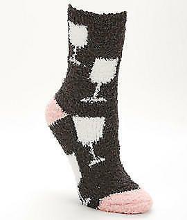 247ef1d4563 P.J. Salvage Wine Socks Hosiery - Women s Socks Wine Salvage ...