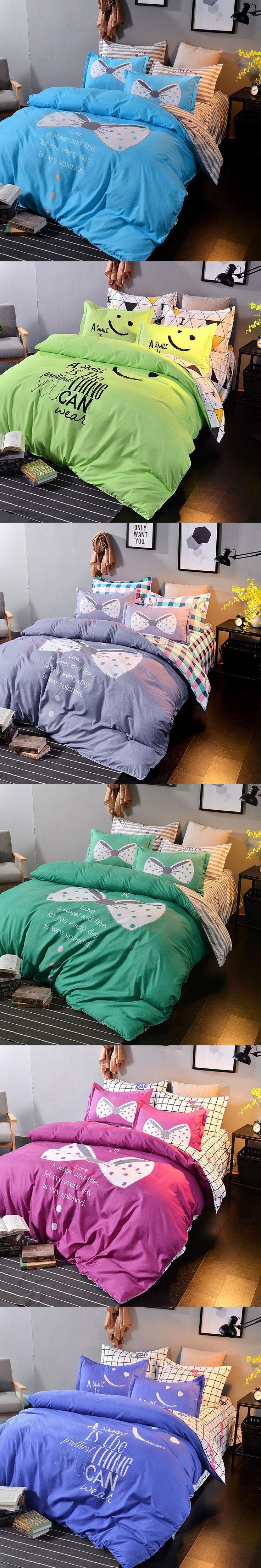 naturelife polyester soft bedding set cover bed sheet modern bedding sets flower printed bed duvet cover