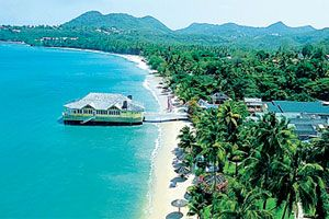 Sandals Halcyon Beach St Lucia - Luxury Included in Caribbean St Lucia