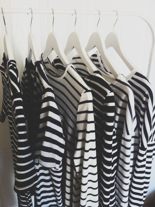 Mariniere + stripes + breton + rack