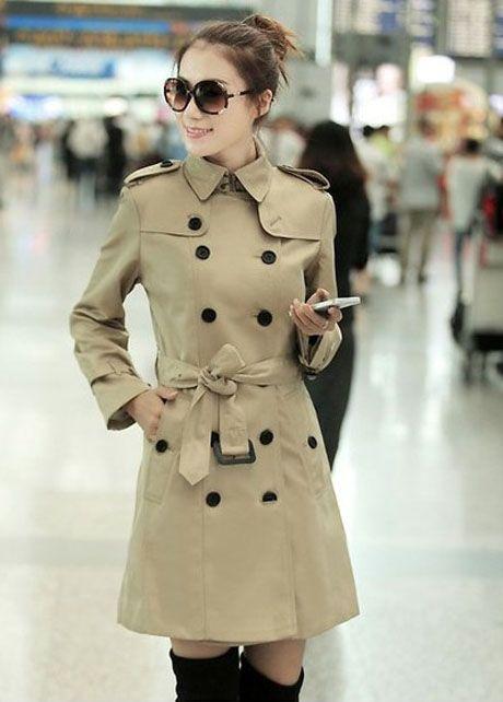 #fashion women trench coat | www.fashionparadiso.com