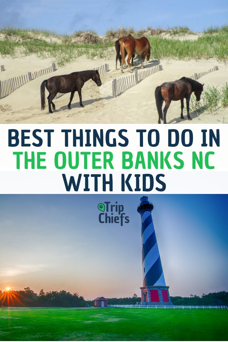 things to do with kids in outer banks