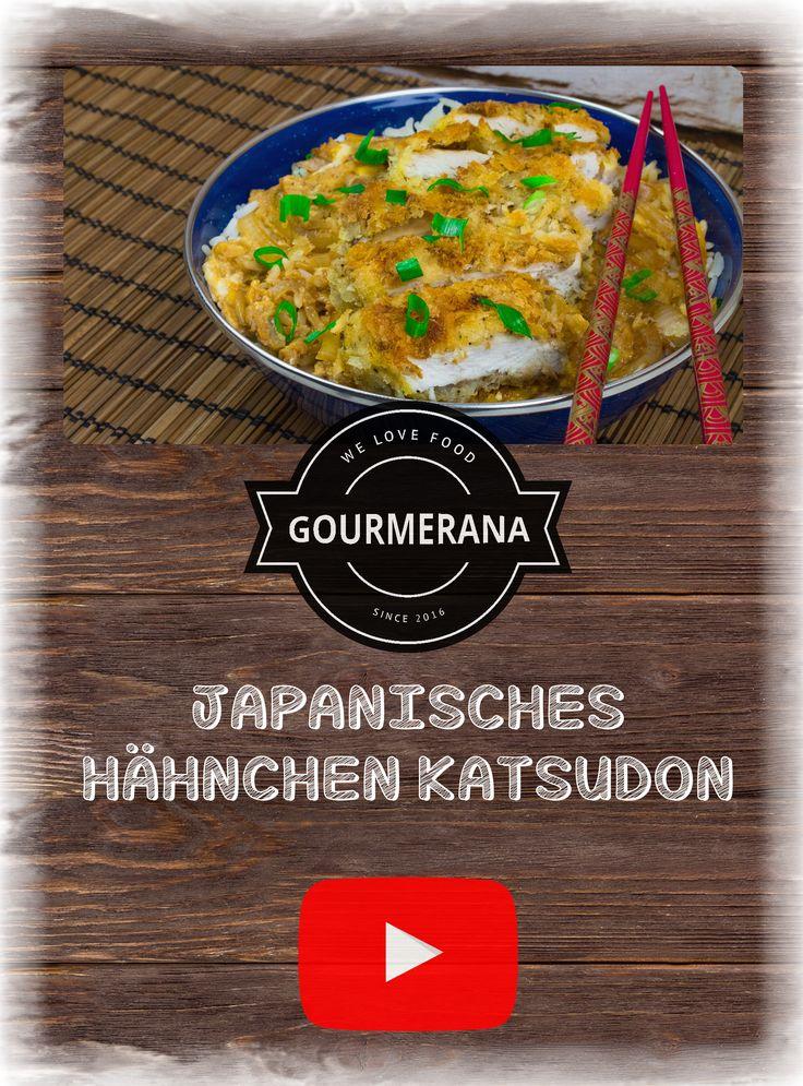 Hähnchen oder Schweine Katsudon ist eine leckere Alternative zum westlichen Schnitzel und wird überwiegend in Japan gegessen. Hierbei wird das Schnitzel in einer süß würzigen Sauce zusammen mit einem EI kurz eingelegt und angebraten und anschließend auf einer Schüssel mit Reis serviert :) #Rezept #Rezepte #Kochen #StopMotion #Animation #Animationen #YouTube #Gourmerana #Gourmet #Rezepte #Japan #Japanisch #Fastfood #Schnitzel #Tonkatsu #Tonkotsu #Katsu #Katsudon #Asiatisch #Asia