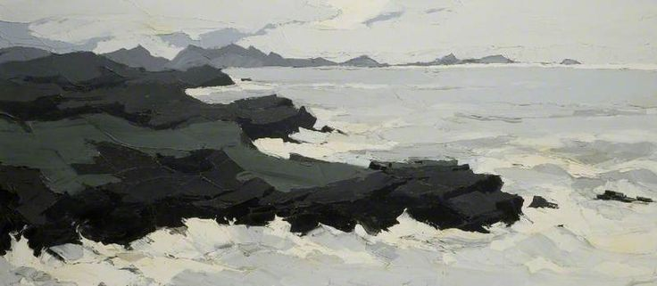 Sea at Trearddur - Kyffin Williams