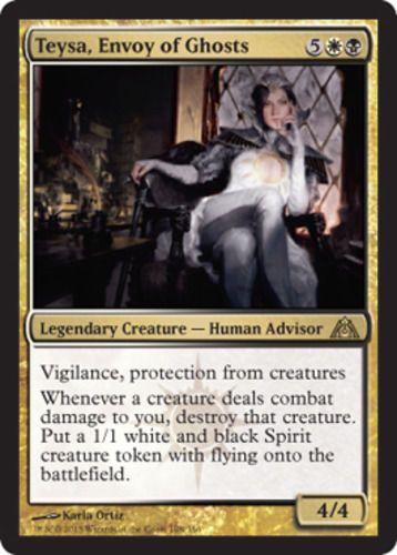 Teysa, Envoy of Ghosts FOIL x4 Magic the Gathering 4x Dragon's Maze mtg card