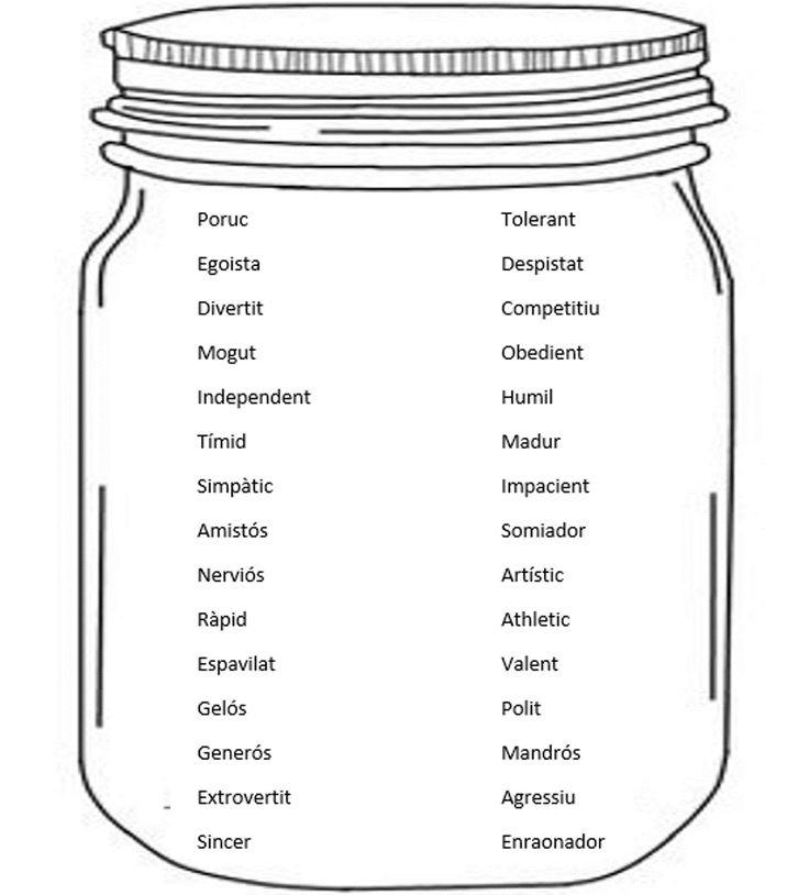 Pot dels adjectius de la personalitat en català