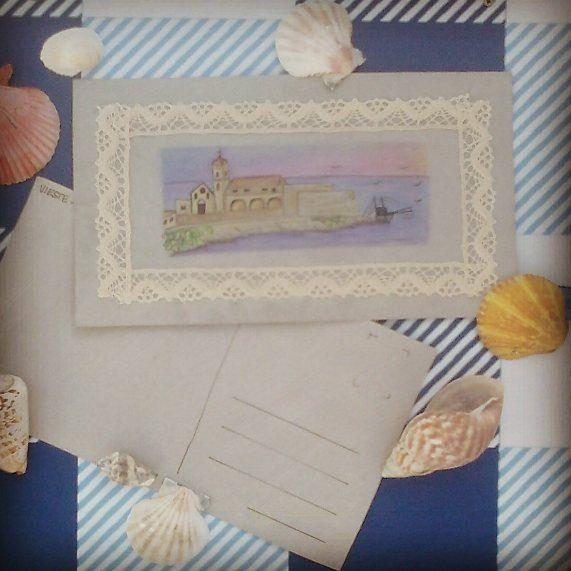 @malicescraftland on #instagram #Cartoline sotto l'#ombrellone. #vieste #gargano #puglia #italia #puntasanfrancesco #chiesa #trabucco #centrostorico #naif #shabby #shabbychic #weareinpuglia #volgopuglia #igpuglia #handmade #acquerelli #postcard #postcards #postal #cartolina #postales #estate #summer #verano #2017 #craft #manchisolotu! ----> Follow me: https://malicecraft.wordpress.com/   ----> instagam: www.instagram.com/malicescraftland/   ----> fb: www.facebook.com/MaliceCrafts