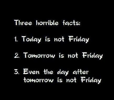 The thing about Monday & Tuesday