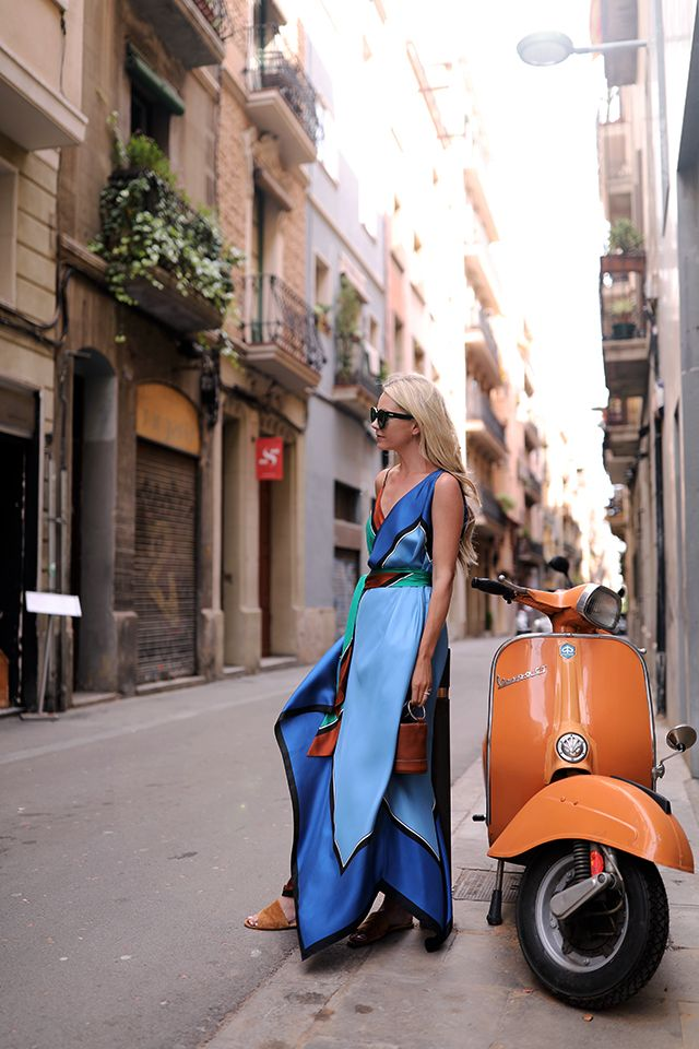 COLORS OF BARCELONA // SPRING MAXI