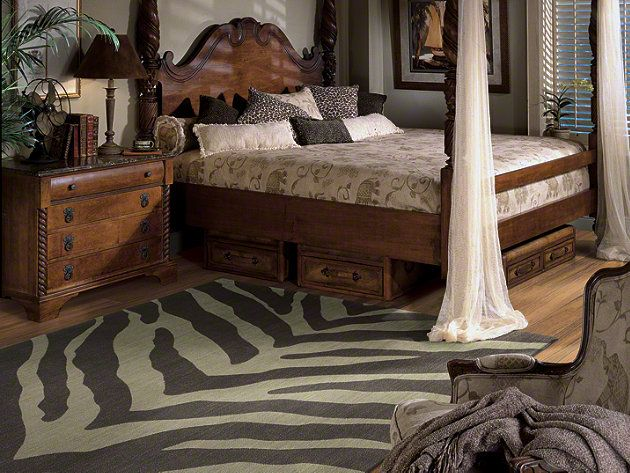 Abstract Zebra Rug   Machine Woven Of 100% New Zealand Wool, Pacifica Is  Incredibly