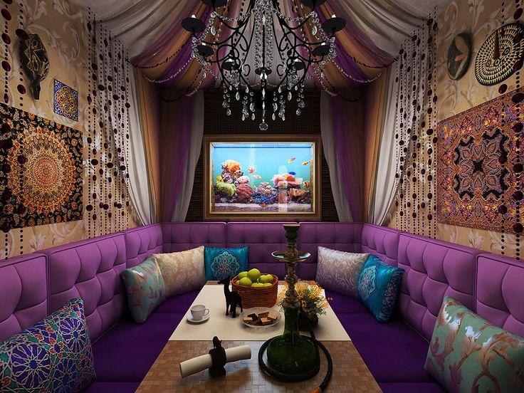 Фотография: Кухня и столовая в стиле Восточный, Декор интерьера, Дизайн интерьера, Цвет в интерьере, Dulux, ColourFutures, сиреневые интерьеры – фото на InMyRoom.ru