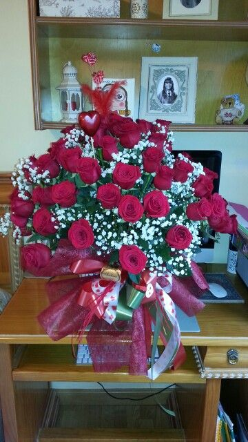70 roses! The best St. Valentine ever :)