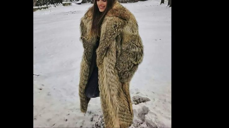 Woman In Red Fox Fur Part 10