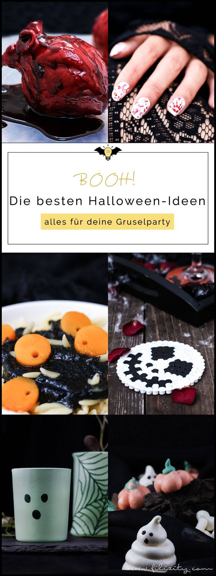 Die besten Halloween Ideen - Rezepte, Nageldesign, DIY Deko | Filizity.com | Lifestyle-Blog aus dem Rheinland #halloween