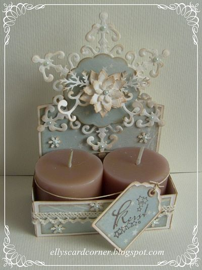 Candle Box Gift • Weekly Scrapper