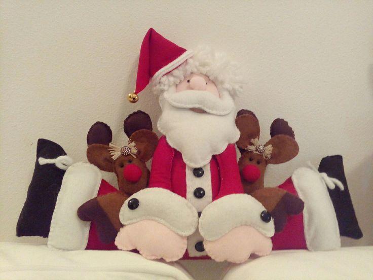 Babbo Natale e le sue renne/Natale 2016