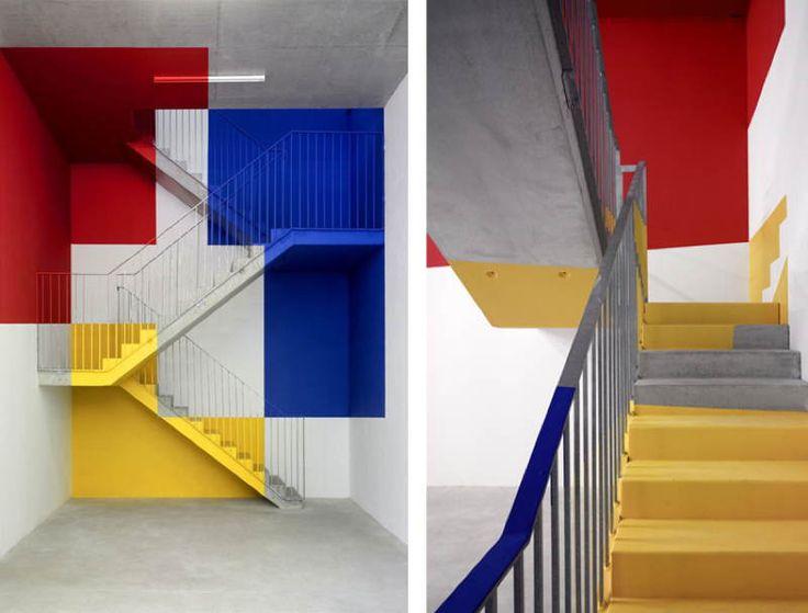 Felice Varini's Incredible Anamorphic Illusions | Memolition