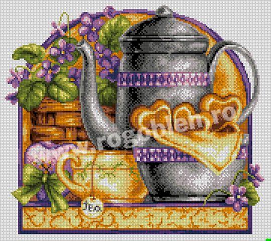 17.62 Invitatie la ceai Culori: 25 Dimensiune: 16 x 18 cm Pret: 49.10 lei