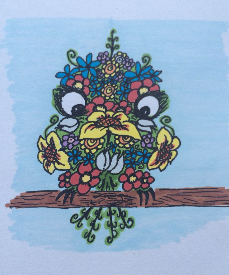Little Owl ;) drawing