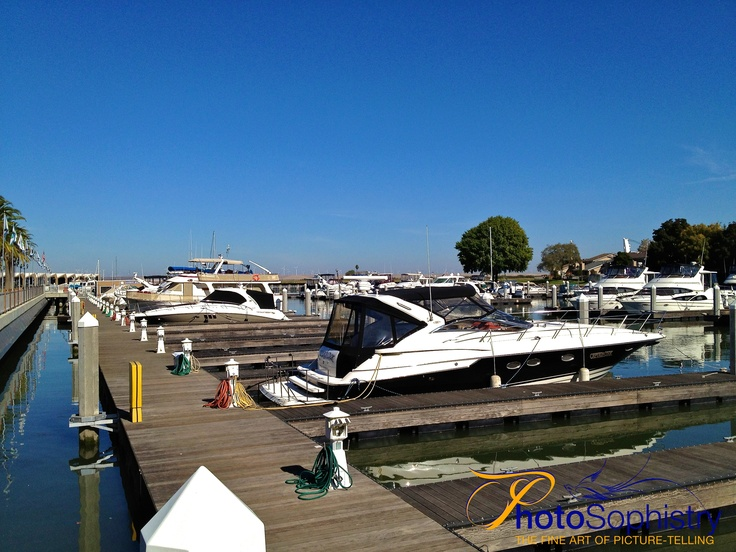 Another iPhone snapshot of the marina in Pittsburg, California.