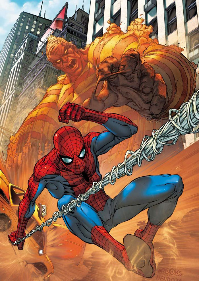 Spidey vs The Sandman by Mark Brooks | *Artist: Mark ...