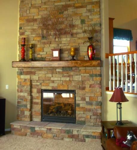 17 Best images about Ideas for replacing fireplace on