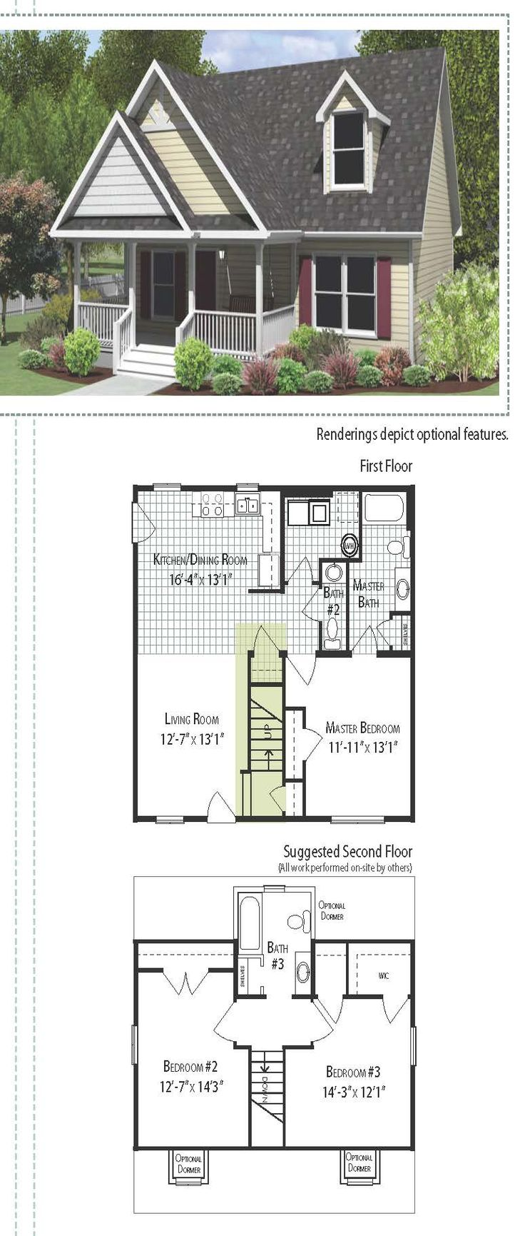 31 best floor plans images on pinterest square feet floor plans country style cape cod home 1406 square feet with a simple front porch this floor plan connects the kitchen and dinning room resulting in one large open